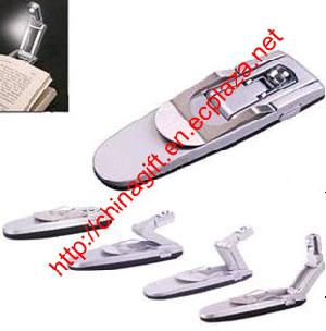 led mini clip book light