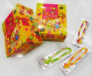 gummy candy necklace shaped halal jelly sweets