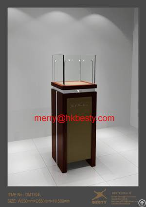 Display Showcases For Jewelry With Led Lights