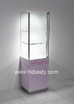 Watch Glass Display Case And Furniture Showroom Display For Watch